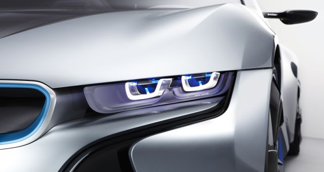Faros láser BMW