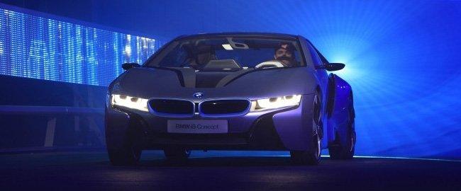 BMW trabaja en faros con tecnología láser