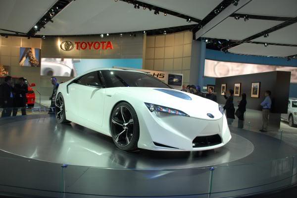Prototipo Toyota Supra
