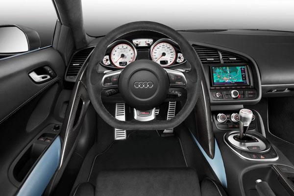 Interior Audi R8 GT Spyder