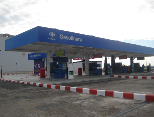 Gasolinera Carrefour
