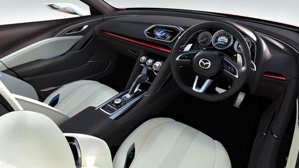 Mazda Takeri concept interior
