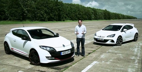 Opel Astra OPC vs Renault Megane RS EVO02