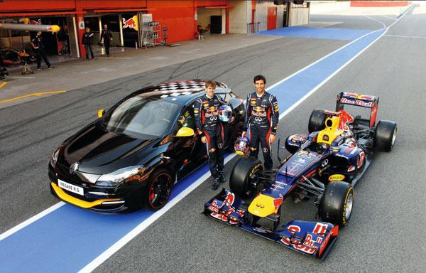 Renault Megane RS Red Bull Racing RB7