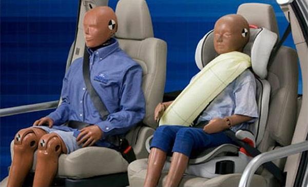 Cinturones con Airbag para el próximo clase S
