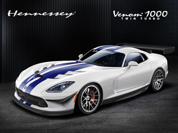 Hennessey Viper Venom 100 Twin Turbo