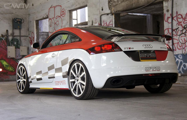 Audi TT RS MTM Taiwan