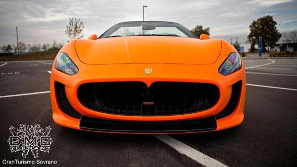 Maserati GranTurismo Convertible Sovrano por DMC