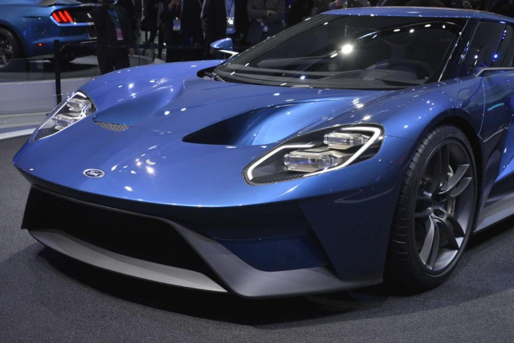 2016 Ford GT Salon Detroit