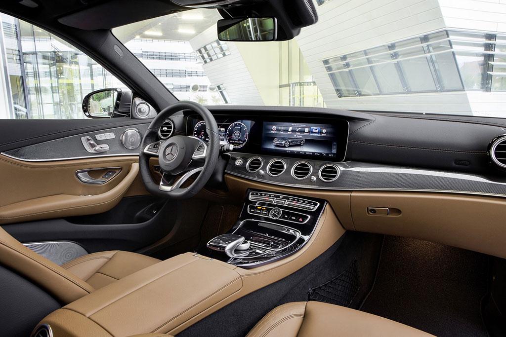 2016 Mercedes Clase E interior