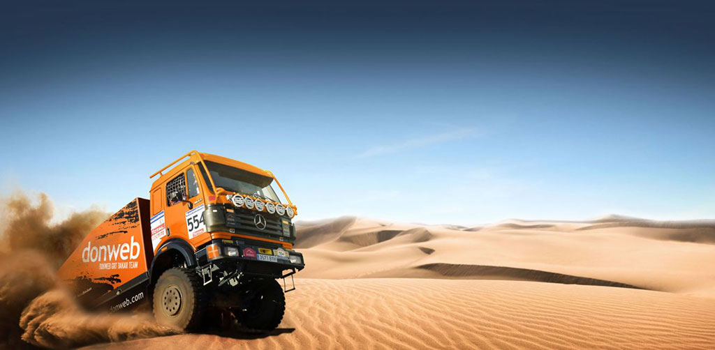 rally Dakar 2016 en camión