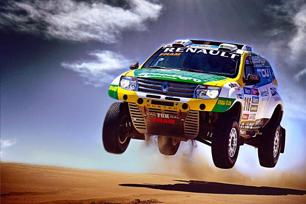 rally Dakar 2016 en coche