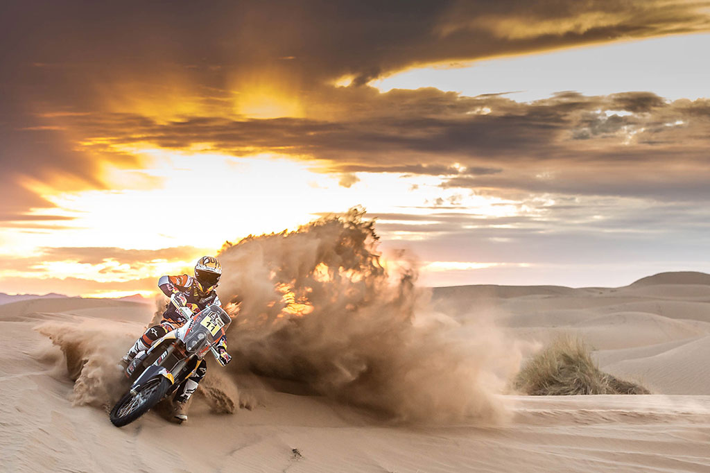 rally Dakar 2016 en moto